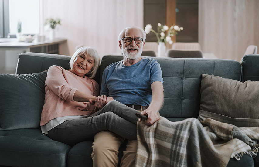 cosy old couple
